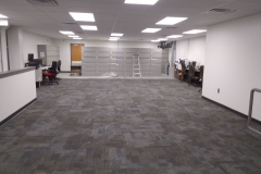 painting-new-offices-at-Woodbury-Nissan-in-Woodbury-NJ-1