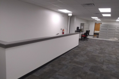 painting-new-offices-at-Woodbury-Nissan-in-Woodbury-NJ-2