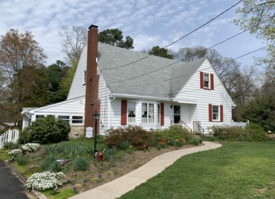 exterior painting job for a home in Sewell, NJ