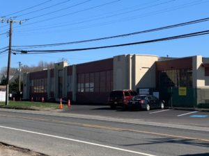 exterior painting job for Colton Automotive Supply Warehouse in Glassboro, NJ