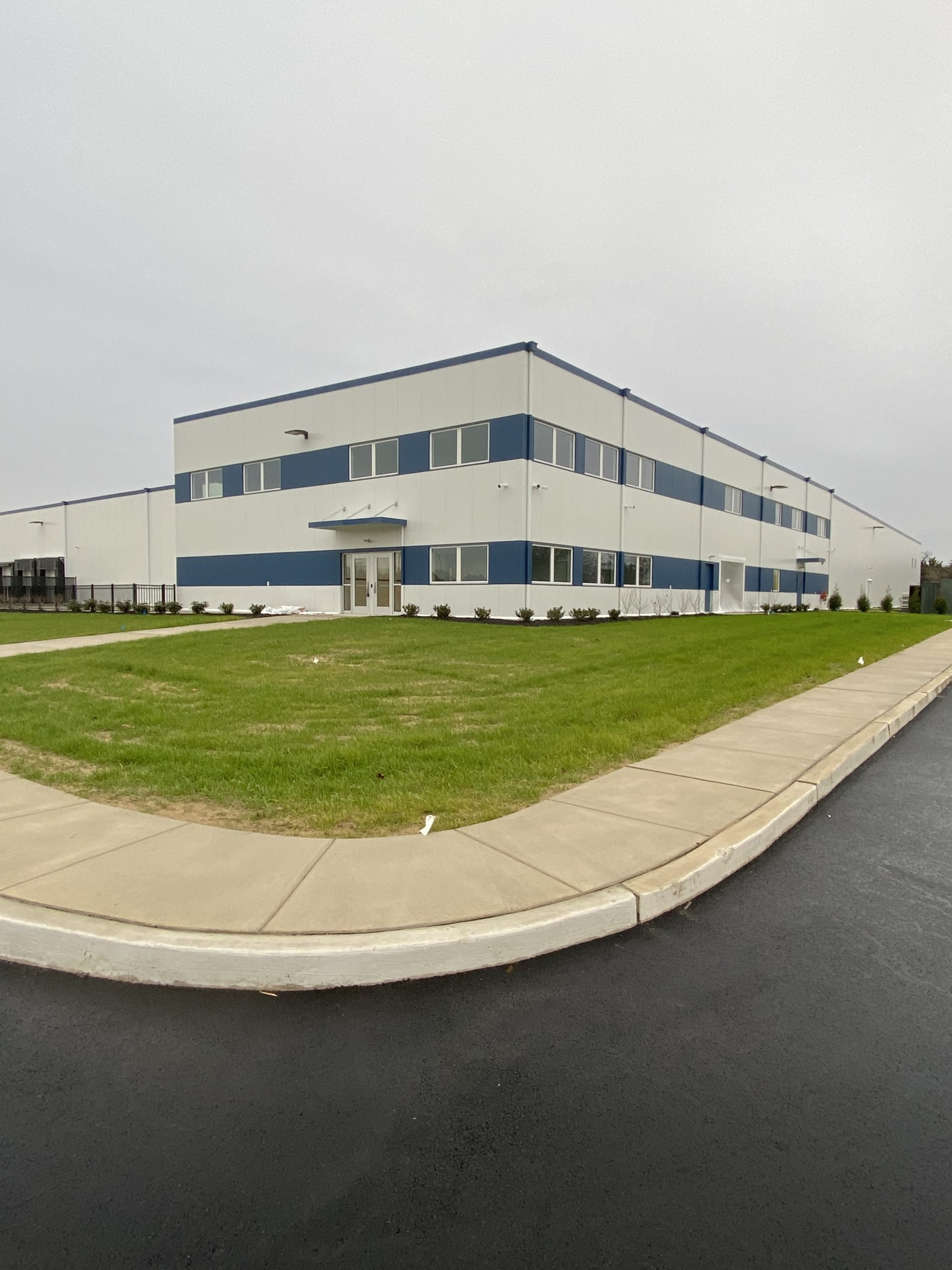 DDS Paints Kopke Fruit Warehouse and Offices in Vineland, NJ