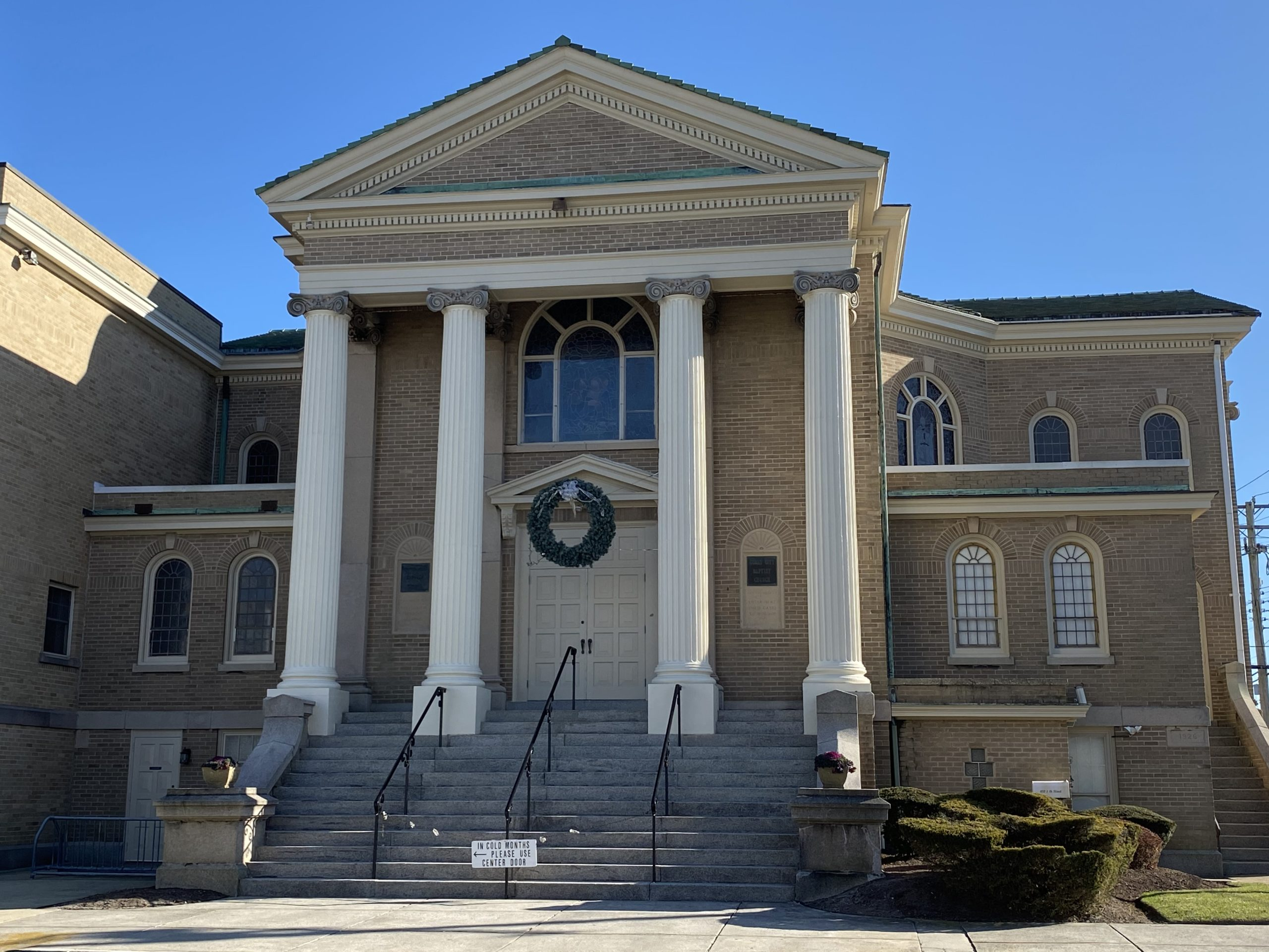 DDS Paints Ocean City Baptist Church
