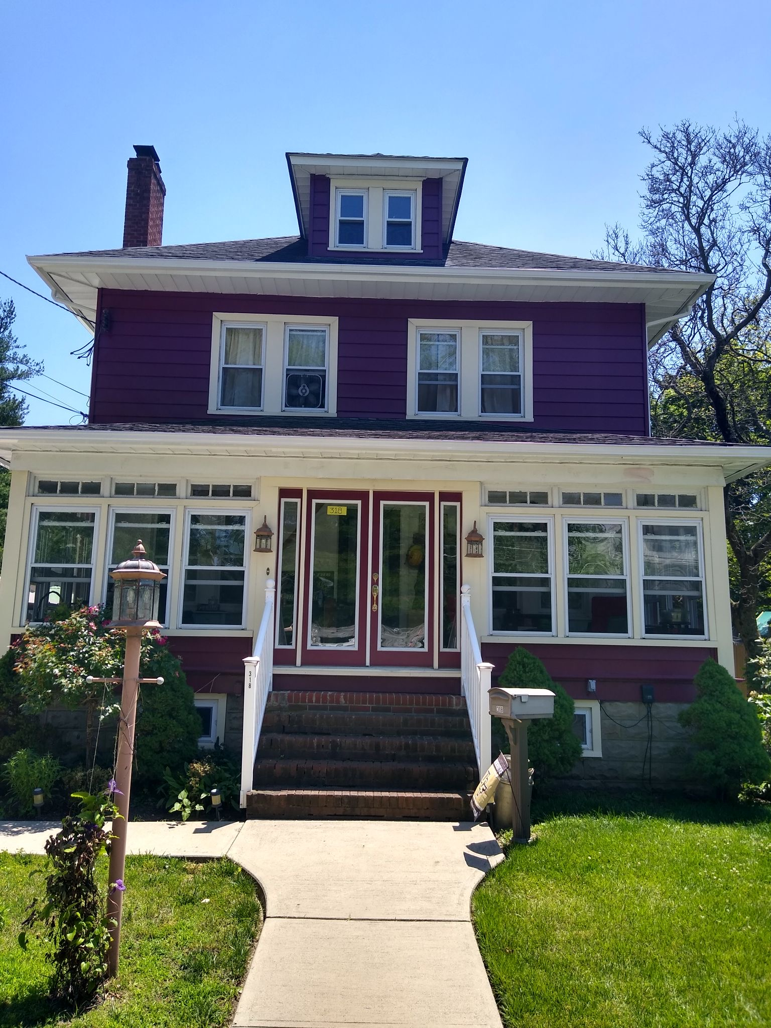 DDS Completes Painting of Home in Woodbury Heights, New Jersey