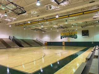 DDS Paints Clearview High School Gymnasium