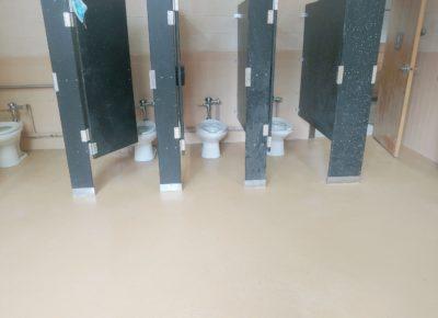 New Flooring at Aura Elementary School
