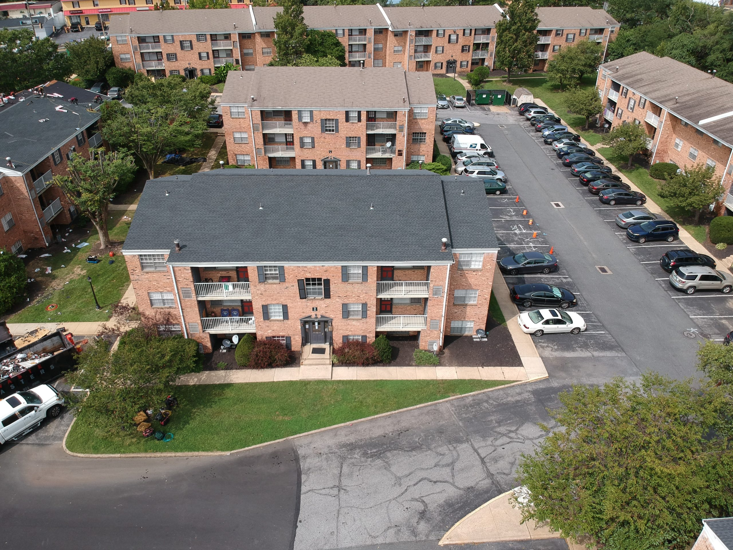 New Roof at Pebble Hill Apartments in Sewell NJ