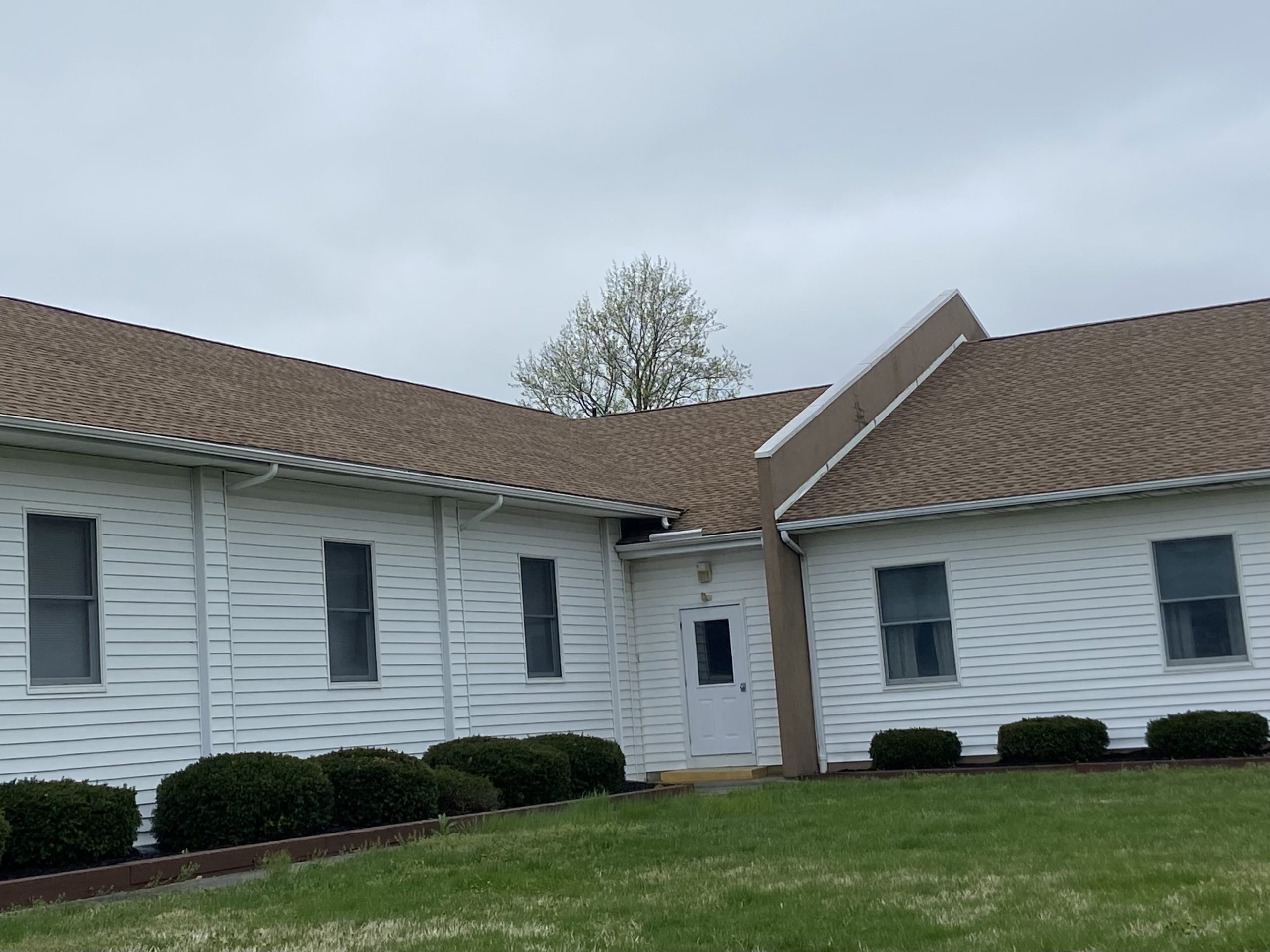 Roof Replacement at Hardingville Bible Church in Monroeville, NJ