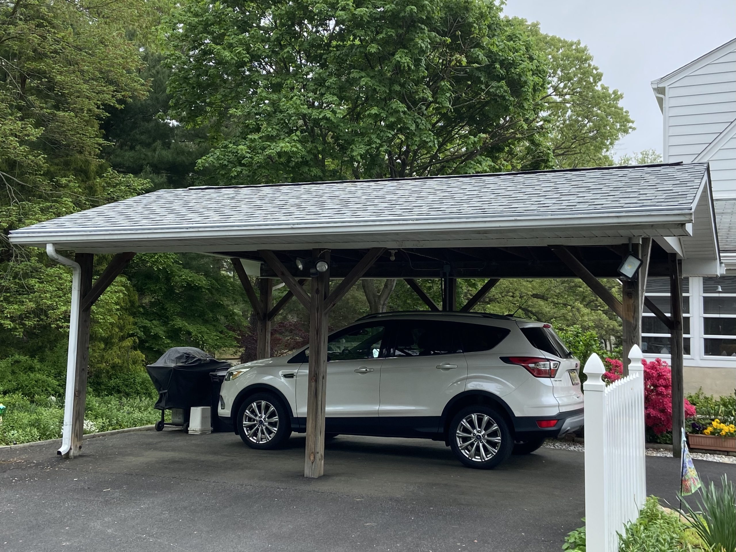 Car Port Roof Replacement