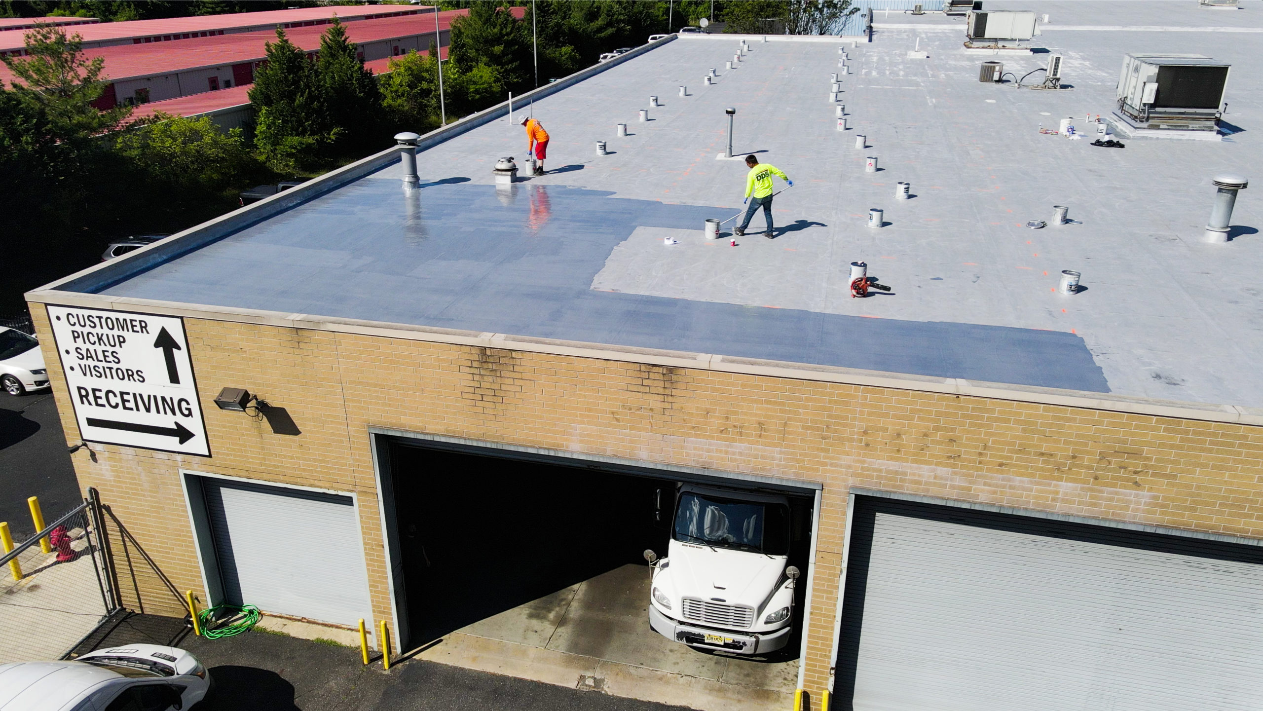 New Roof at Reliable Tire in Blackwood, NJ